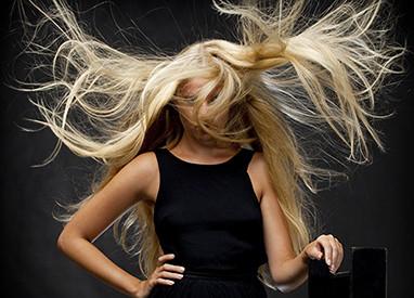 Dry and fragile hair